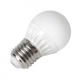 LED Крушка - 4W E27 P45, неутрално бяла светлина