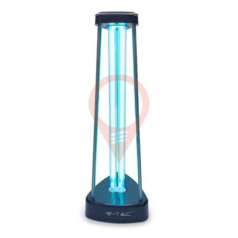 38W UV-C Бактерицидна Антивирусна Лампа с Озон за 60м2