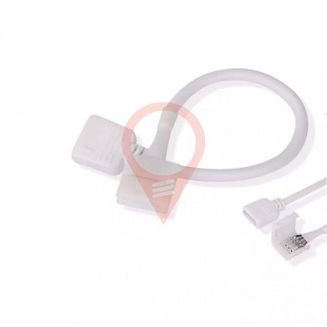 Гъвкав Конектор За 5050 LED Лента RGB+Бяло С Пин
