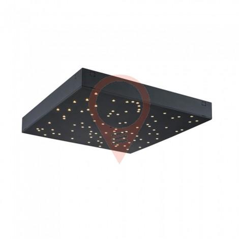 8W LED Звездно Пано Смяна на Цвета Черно Тяло