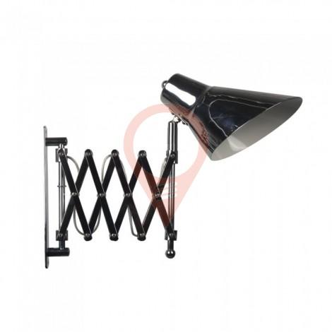 Наземна Лампа PIXI Хром Е27 Подвижна