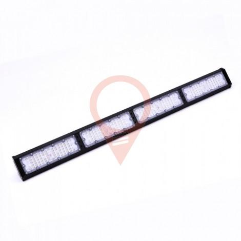 200W LED Линеен Индустриален Осветител Черно Тяло 4000К