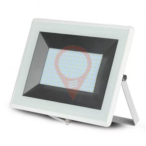 100W LED Прожектор Е-Series Бяло Тяло 3000K