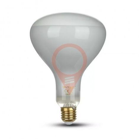 LED Крушка 8W Filament E27 R125 Димиращ 2700K
