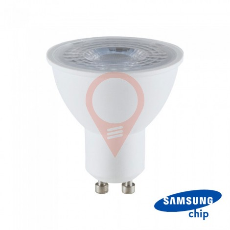 LED Крушка - SAMSUNG ЧИП 8W 110° GU10  4000K