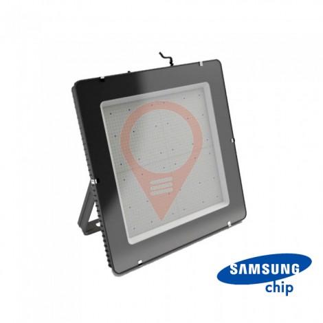 1000W LED Прожектор SAMSUNG Чип SMD SLIM Черно Тяло 6400К 120 lm/W