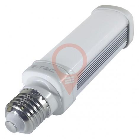 LED Крушка - 6W E27 PL, Бяла светлина