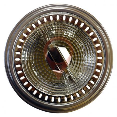 LED Крушка - AR111 GU10 40° 12W 12V Топло бяла светлина
