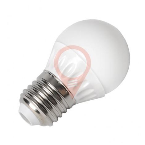 LED Крушка - 4W E27 P45, Бяла светлина