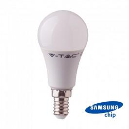 LED Крушка - SAMSUNG Чип 9W E14 6400K