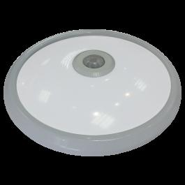 12W LED Плафониера Сензор Топло бяла светлина