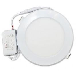 12W LED Панел Кръг Светлина 3000К