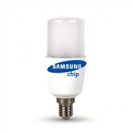 LED Крушка - SAMSUNG ЧИП 8W E14 T37 Неутрална светлина