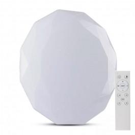 60W LED Плафон Дистанционно 3 в 1 Димиращ Диамант