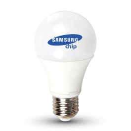 LED Крушка - SAMSUNG ЧИП 9W E27 A60 6400K