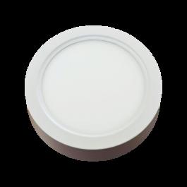 15W LED Панел Външен монтаж - Кръг топло бяла светлина