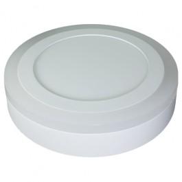 6W+2W LED Панел Външен монтаж - Кръг, неутрално бяла светлина