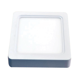 15W LED Панел Външен монтаж - Квадрат топло бяла светлина