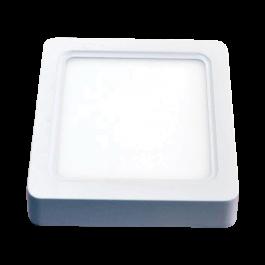 15W LED Панел Външен монтаж - Квадрат, неутрално бяла светлина