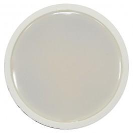 LED Крушка - 7W GU10 Бяла Пластик, Топло бяла Димираща