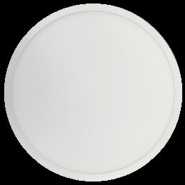 18W LED Панел Външен монтаж Premium- Кръг топло бяла светлина