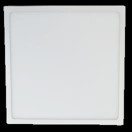 18W LED Панел Външен монтаж premium - Квадрат бяла светлина