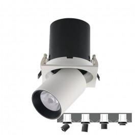 LED Луна SAMSUNG Чип - 18W Регулируема Черно/Бяла 4000К