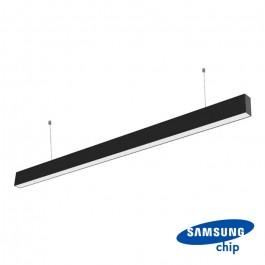 LED Линейно Осветление SAMSUNG Чип 40W Висящо Черно Тяло 3 в 1
