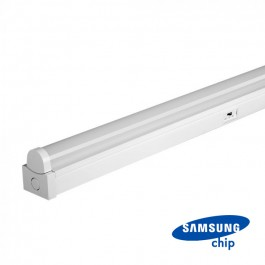 40W LED Double Batten Fitting SAMSUNG Chip 120cm 3 in 1 120lm/W