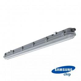 LED Влагозащитено Тяло M-Серия 1200мм 36W 6400K Прозрачно 120LM/W