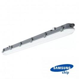 LED Влагозащитено тяло M-Серия 600mm 18W 6400K Мат 120 lm/W