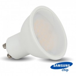 LED Крушка - SAMSUNG ЧИП 5W GU10 110° 6400K