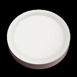 22W LED Панел Външен монтаж - Кръг бяла светлина