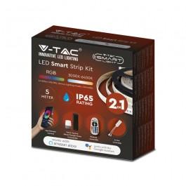 LED Лента 28W 5050/54 RGB + 3 в 1 IP65 Сет Смарт