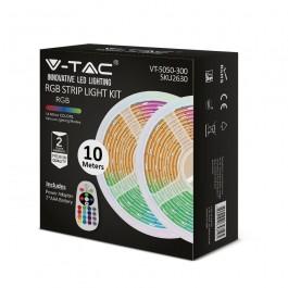 LED Лента RGB Сет SMD5050 300LED 2 x 5м. Дистанционно + Адаптер
