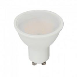 LED Крушка - 3.5W GU10 Пластик Дистанционно RGB + 6400K