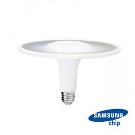 LED Крушка SAMSUNG Чип 18W Акрилна UFO Пластик 6400К