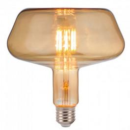 LED Крушка - 8W Filament E27 T180 Amber 2200K
