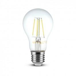 LED Крушка - 8W Filament  E27 A65 Димираща 3000K