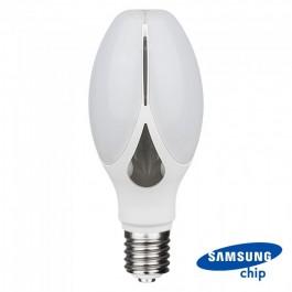 LED Крушка - SAMSUNG Чип 36W E27 Olive Lamp Топло бяла светлина