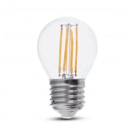 LED Крушка 6W Filament E27 G45 4000К 130lm/W