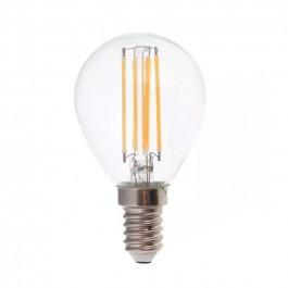LED Крушка 6W Filament E14 P45 6400К 130lm/W