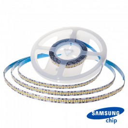 LED Лента SAMSUNG ЧИП 2835 240/1 24V IP20 6000K CRI95+