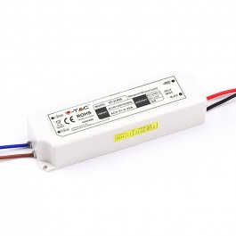 LED Захранване Slim Plastic - 30W 12V IP67