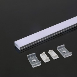 Алуминиев Профил Мат 2000 x 23.5 x 10мм