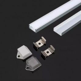 Aluminium Profile 2000 x 16 x 7mm