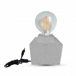 Настолна лампа E27 Бетон