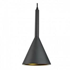 Пендел Стъклен Modern Алуминий Черен ф160