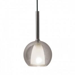 Пендел Стъклен Modern Прозрачен Сив+Бял ф180
