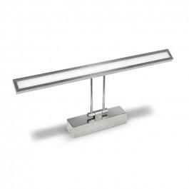 8W LED Лампа За Картина Подвижна Хром Неутрално бяла светлина